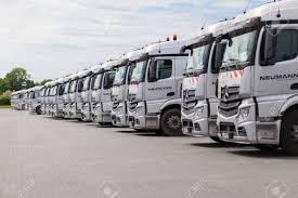 100 German Trucks BURG GERMANY JUNE 11 2017 Mercedes Benz Actros