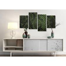 Green Leaves Decal Wall Sticker Living Room Vinyl Mural Art Home Decor Removable