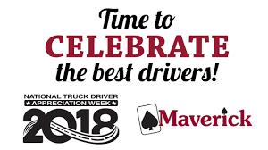Maverick's 2018 Driver Appreciation Week Video -