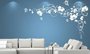 Beauteous Decorative Painting Ideas For Walls With Wall Decor Good Look Designs Fancy