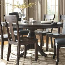 Trudell Dining Table In Dark Brown