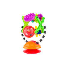 Sassy Teethe & Twirl Sensation Station 2-in-1 Suction Cup High Chair Toy |  Developmental Tray Toy For Early Learning | For Ages 6 Months And Up Munchkin Baby Booster Seat Portable Highchair Travel Feeding Squeeze Spoon Wow Ocean Bath Squirters 4pack 12 Best Bouncers Uk You Should Consider For Mums Gone Fishin Toy Boost Convertible Chair Munchkin Bath Toy Falls Laundry Hamper With Lid Grey Play N Pat Water Kids Mat 44550 4pc Mozart Magic Cube