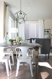 Rustic Dining Room Ideas Pinterest by Best 25 White Dining Table Ideas On Pinterest Room Intended For