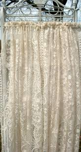Lace Priscilla Curtains With Attached Valance by 17 Best Vintage Lace Curtains Images On Pinterest Vintage Lace