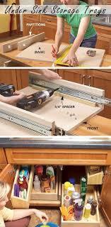 28 genius kitchen organizations ideas on a budget kitchen sink