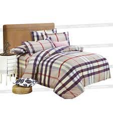 housse de couette burberry parure de lit thème burberry convient pour un lit 160 x 220 cm