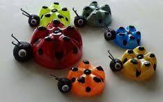 Decoration Ideas Themselves Make Ladybug Craft Plastic Bottles