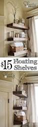 Small Half Bathroom Decorating Ideas by Best 25 Bathroom Shelves Ideas On Pinterest Half Bath Decor