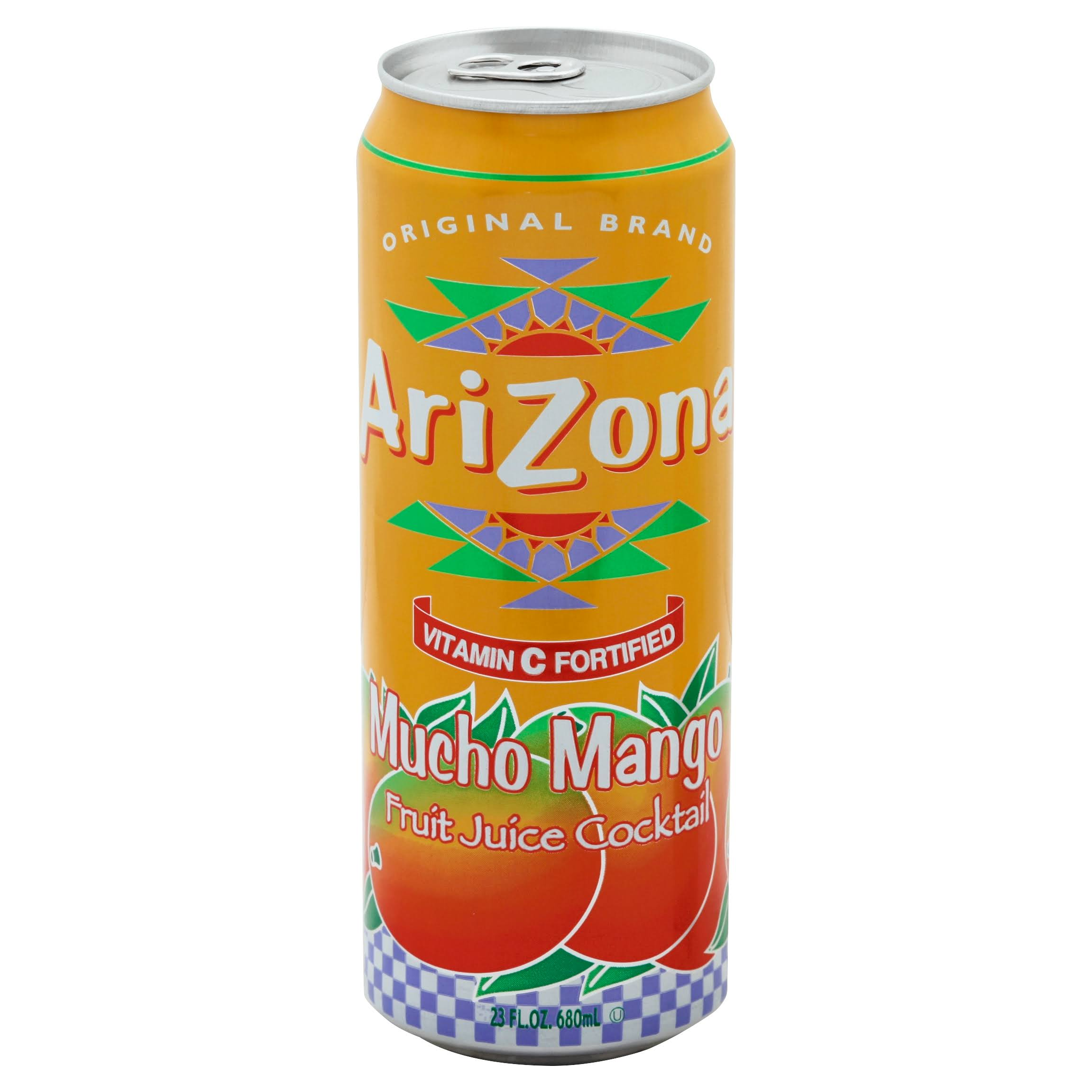 Arizona Fruit Juice Cocktail - Mucho Mango, 23oz