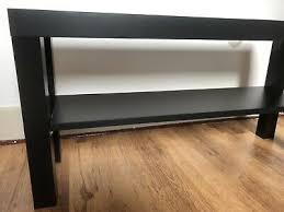 ikea regal lack tv bank dunkelbraun schwarzbraun wohnzimmer