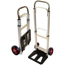 Rhyas Heavy Duty Aluminum Steel Hand Sack Truck Trolley | EBay Magna Cart Folding Hand Truck Sydney Trolleys Convertible Sco Shifter Mulposition And Shop Milwaukee 300lb Capacity Red Alinum At Harper 150 Lb Truckhmc5 The Home Depot Ruxxac Business Trolley Industrial Clearance Collapsible Trucks Magliner Supplier R Us Cosco 3 Position Baron Item Fw80a Dolly Carts Electric Tools For Home
