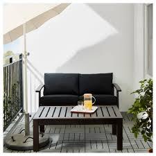 Runnen Floor Decking Uk by Klöven Kungsö Loveseat Outdoor Brown Stained White Ikea