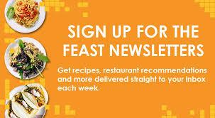 newsletter cuisine newsletter feast magazine