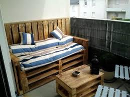 canapé en palette de bois meuble palette de bois intérieur intérieur minimaliste