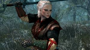 Decided to recreate Ciri in Skyrim Special Edition witcher