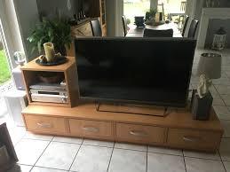 tv tisch lowboard buche raumteiler wohnzimmer tv hifi rack