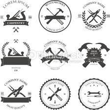 Vector Art Carpentry Tools Labels And Design Elements