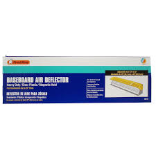 Adjustable Floor Register Deflector by Frost King Baseboard Air Deflector Extends 15 To 25 In Hd11 The