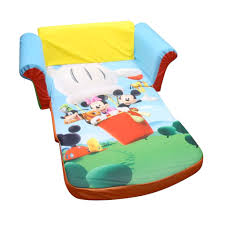 spin master marshmallow furniture flip open sofa mickey mouse