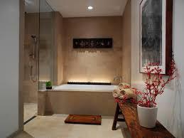 Master Bath Rug Ideas by Stunning Spa Bathroom Decor With Hardwood Floor Under White Fur
