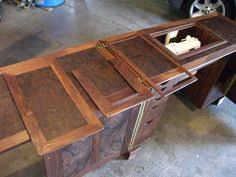 Sewing Cabinet Woodworking Plans by Deluxe Sewing Center Plan Sewing Rooms Woodworking And Craft