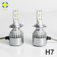 car led headlight c6f h7 12v 35w 6000k headl replacement kit