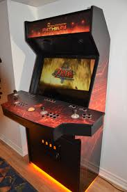 Build Arcade Cabinet With Pc by Pathway Arcade Mame Cabinet 4 Player Zelda Pathway Mame Cabinet