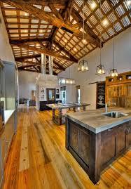Rustic Home Open Floor Plan Wood Dream Pinterest Homes
