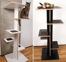 modern cat tower acacia baobab modern cat trees from square cat habitat hauspanther