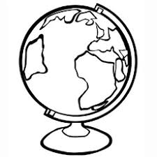 Full Size Of Coloring Pageglobe Page The Large Thumbnail