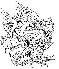 Detailed Dragon Coloring Pages Terrifying Sheets For