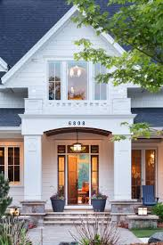 Beautiful Porch Of The House by Beautiful Entry On Killer White House E X T E R I O R S