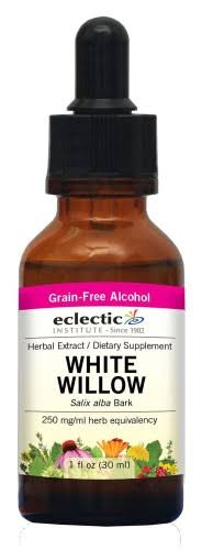 Eclectic Institute White Willow Extract - 1oz