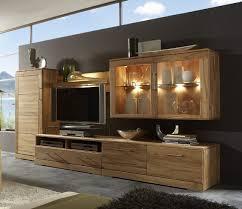 wohnwand wohnzimmerwand wohnzimmer kombi kernbuche massiv geölt natur klassisch lanatura