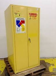 Flammable Liquid Storage Cabinet Location by Eagle Cabinets Flammable Liquids Storage Cabinet Ypi 6010 Used