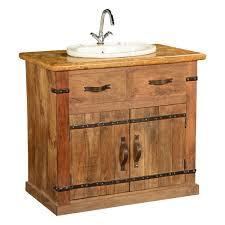 Vitale Designer 800mm Natural Stone Bathroom Vanity Unit 36 Modern
