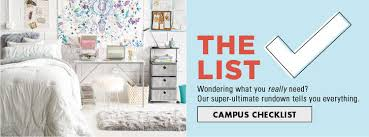 Cute Living Room Ideas For College Students by College Checklist Dorm Room Ideas U0026 Essentials College Landing