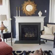 Paint Colors Living Room Accent Wall by Navy Blue Sofa Design Ideas