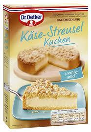 dr oetker käse streusel kuchen 6er pack 6 x