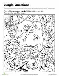 Worksheets Question Mark Coloring Page