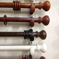 pleasurable wood curtain rods kirsch decorative wood drapery