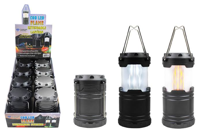 Pop-Up Flame Lantern Diamond Vision Assorted