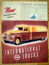 1940 International Harvester New K--Line Trucks Original 13.5 * 10.5 ...