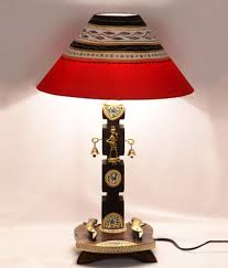 Woods Lamp Examination In Dogs by Unravel India Rectangular Wood Lamp Shade Red Buy Unravel India