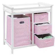Sorelle Dresser Remove Drawers by Costway Rakuten Costway Pink Infant Baby Changing Table W 3