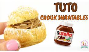 recette choux au nutella pâte à choux inratable facile et