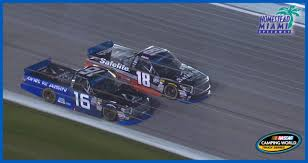 100 Nascar Truck Race Results Moffitt Takes Victory To Win Series Title NASCARcom