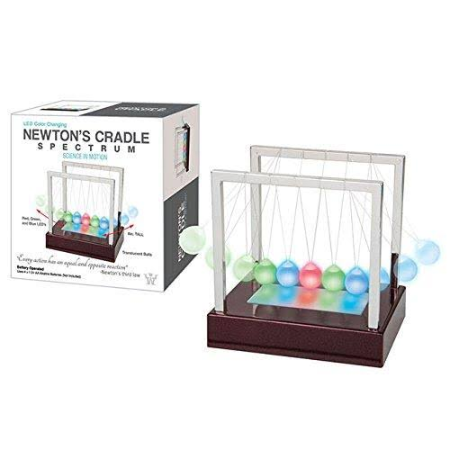 Westminster LED Color Changing Newton's Cradle Spectrum
