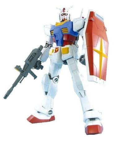 Bandai Hobby Mega Size RX 78 2 Gundam Model Kit - 1/48 scale