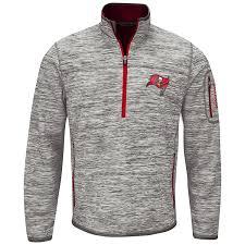 amazon com nfl men u0027s fast pace half zip pullover top sports